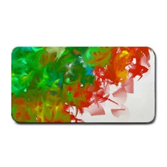 Digitally Painted Messy Paint Background Texture Medium Bar Mats