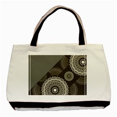 Abstract Mandala Background Pattern Basic Tote Bag (two Sides)