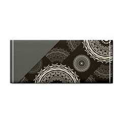 Abstract Mandala Background Pattern Cosmetic Storage Cases by Simbadda