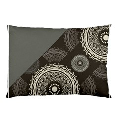 Abstract Mandala Background Pattern Pillow Case by Simbadda