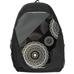 Abstract Mandala Background Pattern Backpack Bag by Simbadda