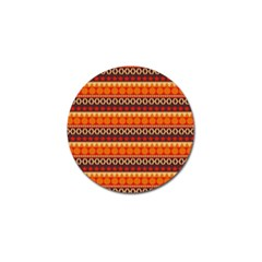 Abstract Lines Seamless Pattern Golf Ball Marker (10 Pack)