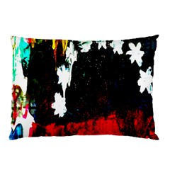 Grunge Abstract In Dark Pillow Case by Simbadda