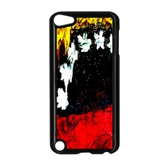 Grunge Abstract In Dark Apple Ipod Touch 5 Case (black) by Simbadda