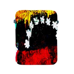 Grunge Abstract In Dark Apple Ipad 2/3/4 Protective Soft Cases by Simbadda