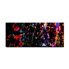 Lit Christmas Trees Prelit Creating A Colorful Pattern Cosmetic Storage Cases by Simbadda