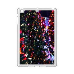 Lit Christmas Trees Prelit Creating A Colorful Pattern Ipad Mini 2 Enamel Coated Cases