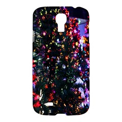 Lit Christmas Trees Prelit Creating A Colorful Pattern Samsung Galaxy S4 I9500/i9505 Hardshell Case by Simbadda