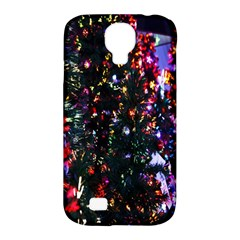 Lit Christmas Trees Prelit Creating A Colorful Pattern Samsung Galaxy S4 Classic Hardshell Case (pc+silicone) by Simbadda