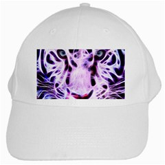 Fractal Wire White Tiger White Cap by Simbadda