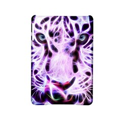 Fractal Wire White Tiger Ipad Mini 2 Hardshell Cases by Simbadda