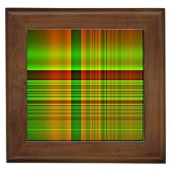 Multicoloured Background Pattern Framed Tiles by Simbadda