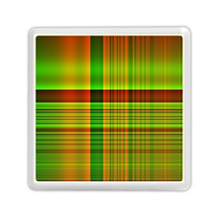 Multicoloured Background Pattern Memory Card Reader (square)  by Simbadda
