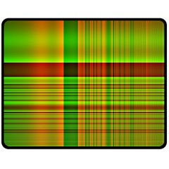 Multicoloured Background Pattern Double Sided Fleece Blanket (medium)  by Simbadda