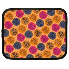 Colorful Trees Background Pattern Netbook Case (xxl)  by Simbadda