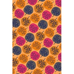 Colorful Trees Background Pattern 5 5  X 8 5  Notebooks by Simbadda