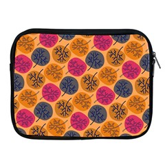 Colorful Trees Background Pattern Apple Ipad 2/3/4 Zipper Cases by Simbadda