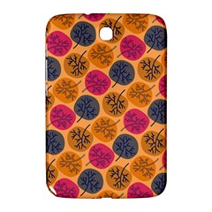 Colorful Trees Background Pattern Samsung Galaxy Note 8 0 N5100 Hardshell Case  by Simbadda