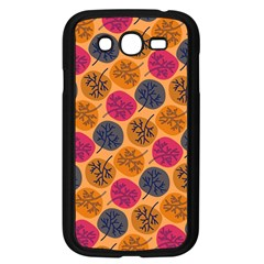 Colorful Trees Background Pattern Samsung Galaxy Grand Duos I9082 Case (black) by Simbadda