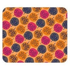 Colorful Trees Background Pattern Double Sided Flano Blanket (small)  by Simbadda
