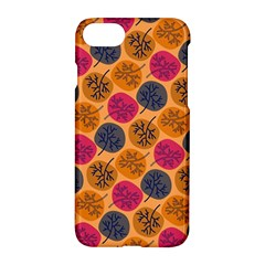 Colorful Trees Background Pattern Apple Iphone 7 Hardshell Case