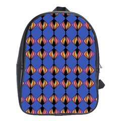 Abstract Lines Seamless Pattern School Bags (xl)  by Simbadda