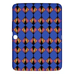 Abstract Lines Seamless Pattern Samsung Galaxy Tab 3 (10 1 ) P5200 Hardshell Case