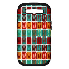 Bricks Abstract Seamless Pattern Samsung Galaxy S Iii Hardshell Case (pc+silicone)