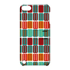 Bricks Abstract Seamless Pattern Apple Ipod Touch 5 Hardshell Case With Stand by Simbadda
