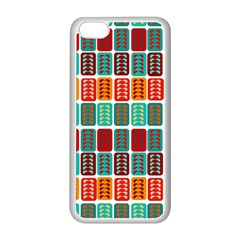 Bricks Abstract Seamless Pattern Apple Iphone 5c Seamless Case (white) by Simbadda