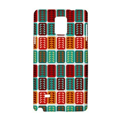 Bricks Abstract Seamless Pattern Samsung Galaxy Note 4 Hardshell Case by Simbadda
