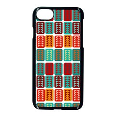 Bricks Abstract Seamless Pattern Apple Iphone 7 Seamless Case (black)