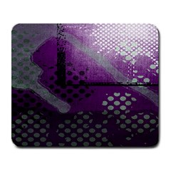 Evil Moon Dark Background With An Abstract Moonlit Landscape Large Mousepads by Simbadda