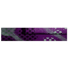 Evil Moon Dark Background With An Abstract Moonlit Landscape Flano Scarf (small) by Simbadda