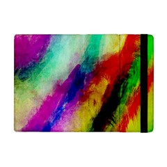 Colorful Abstract Paint Splats Background Apple Ipad Mini Flip Case
