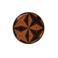 Fractal Pattern Of Fire Color Hat Clip Ball Marker by Simbadda