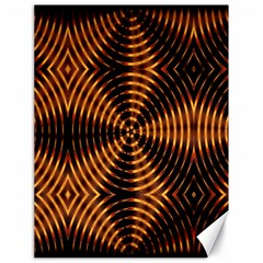 Fractal Pattern Of Fire Color Canvas 18  X 24   by Simbadda