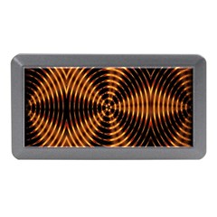 Fractal Pattern Of Fire Color Memory Card Reader (mini) by Simbadda