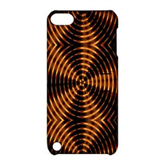Fractal Pattern Of Fire Color Apple Ipod Touch 5 Hardshell Case With Stand by Simbadda