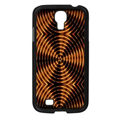 Fractal Pattern Of Fire Color Samsung Galaxy S4 I9500/ I9505 Case (black) by Simbadda