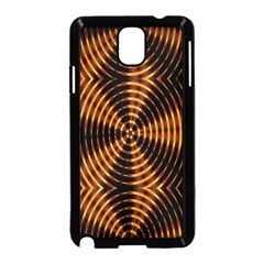 Fractal Pattern Of Fire Color Samsung Galaxy Note 3 Neo Hardshell Case (black) by Simbadda