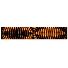 Fractal Pattern Of Fire Color Flano Scarf (large)