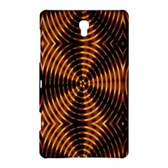 Fractal Pattern Of Fire Color Samsung Galaxy Tab S (8 4 ) Hardshell Case