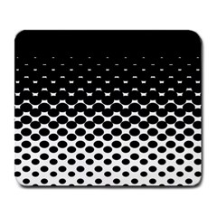 Halftone Gradient Pattern Large Mousepads