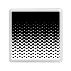 Halftone Gradient Pattern Memory Card Reader (square)