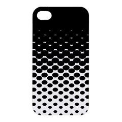 Halftone Gradient Pattern Apple Iphone 4/4s Hardshell Case by Simbadda