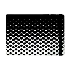 Halftone Gradient Pattern Apple Ipad Mini Flip Case by Simbadda