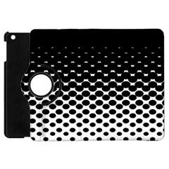 Halftone Gradient Pattern Apple Ipad Mini Flip 360 Case by Simbadda