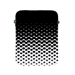 Halftone Gradient Pattern Apple Ipad 2/3/4 Protective Soft Cases by Simbadda