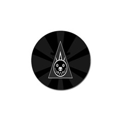 Abstract Pigs Triangle Golf Ball Marker